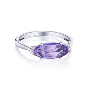 Tacori Solitaire Oval Gem Ring