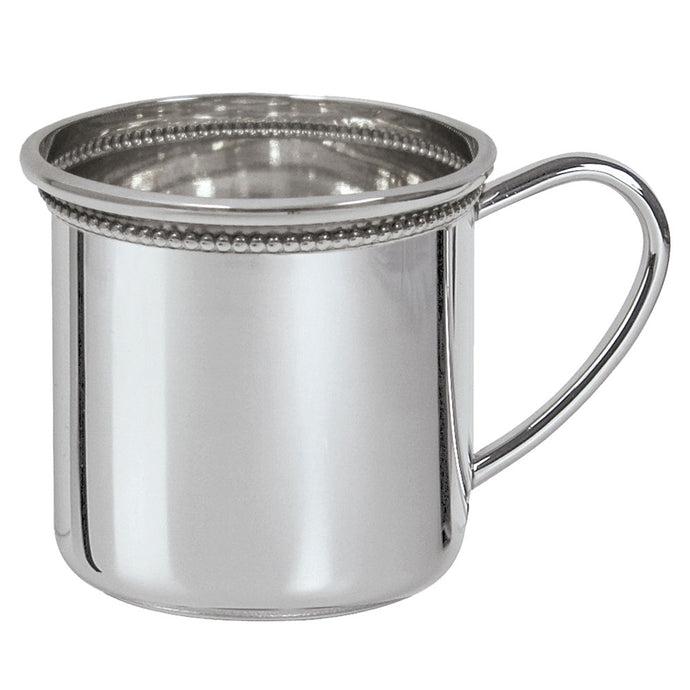 Salisbury Pewter Beaded Cambridge Baby Cup - Sterling Silver