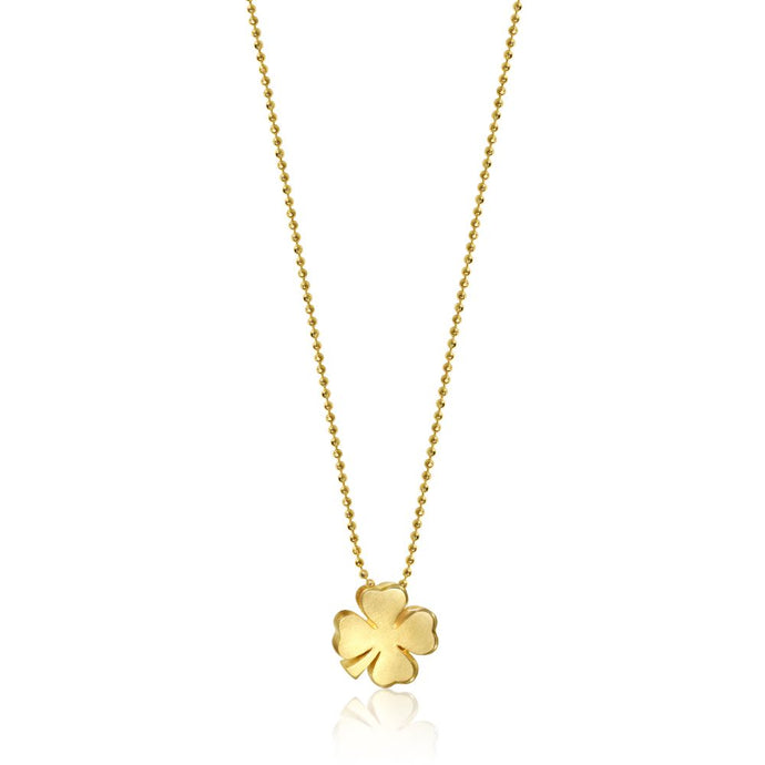 Alex Woo Little Luck Clover Pendant