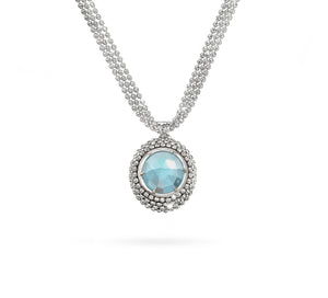 Officina Bernardi Necklace Divina Gemstone