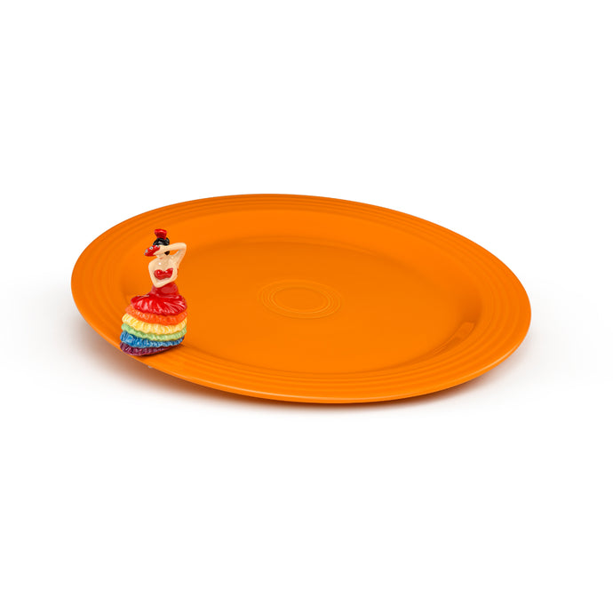 Nora Fleming Fiesta Platter and Mini Set