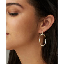 Load image into Gallery viewer, Kendra Scott Elle Open Frame Crystal Drop Earrings
