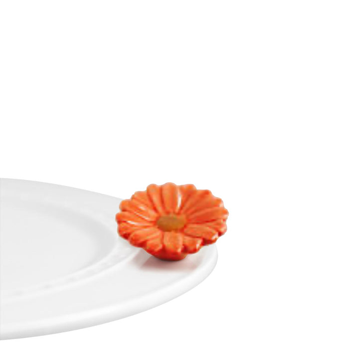 Nora Fleming Flower Power Orange (Limited Edition)