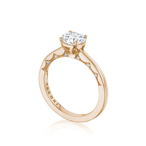 Tacori Coastal Crescent Engagement Ring Setting