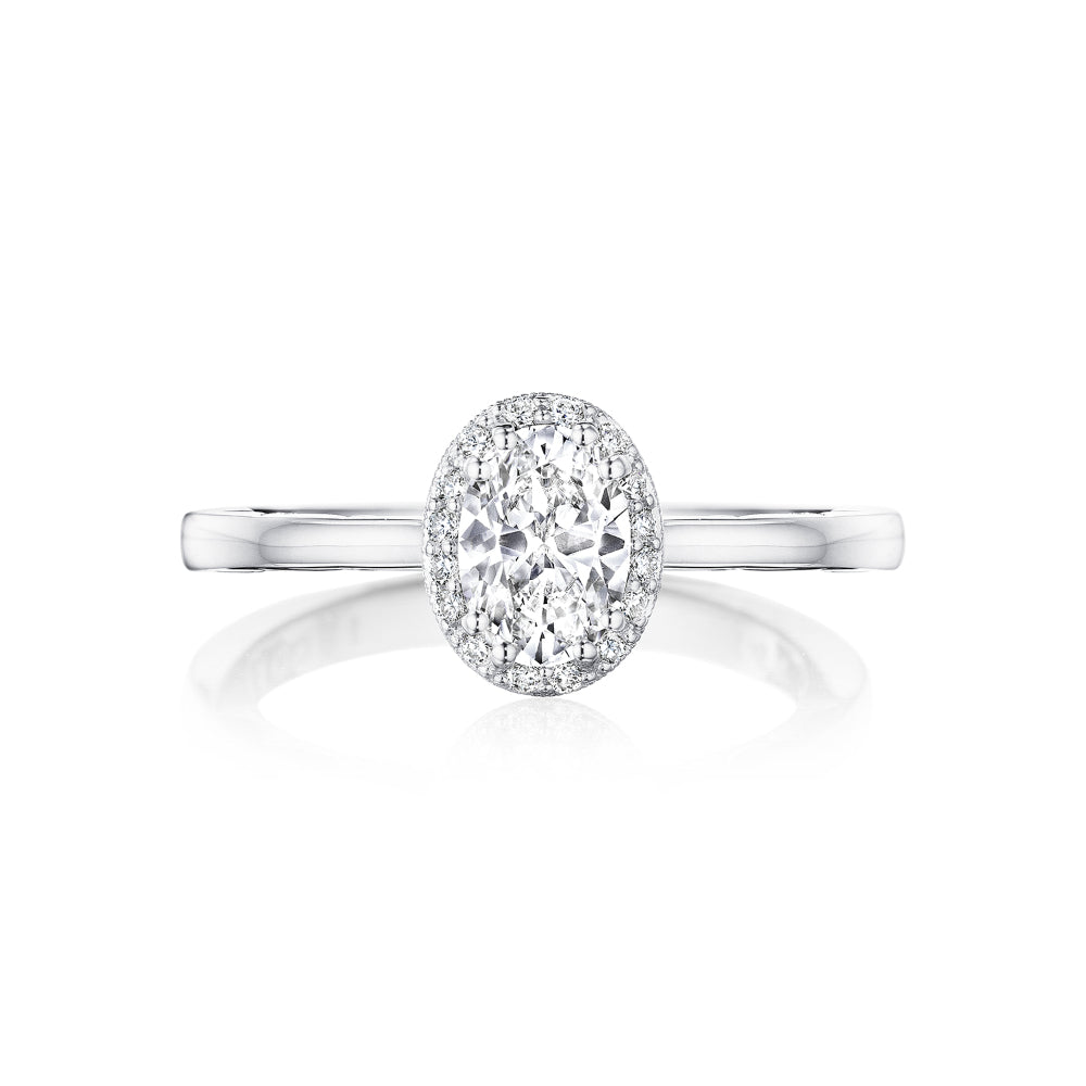 Tacori Coastal Crescent Engagement Ring