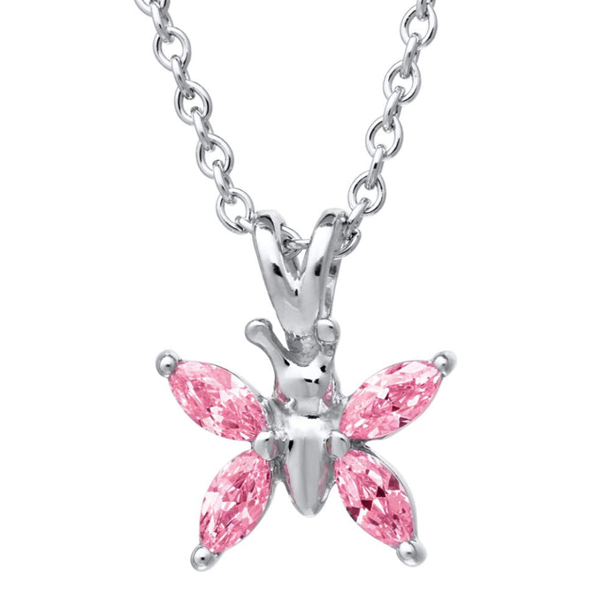 Children's Butterfly Necklace