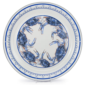 Golden Rabbit Blue Crab Large Tray