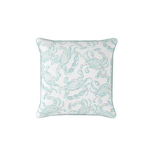 Load image into Gallery viewer, Sewing Down South Crab Craze Pastel Pillow