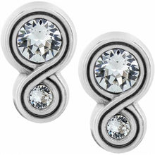Load image into Gallery viewer, Brighton Infinity Sparkle Stud Earrings