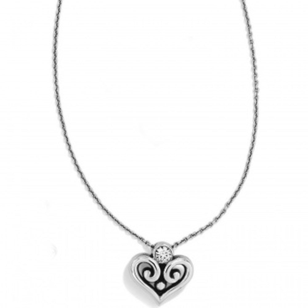 Brighton Alcazer Heart Necklace