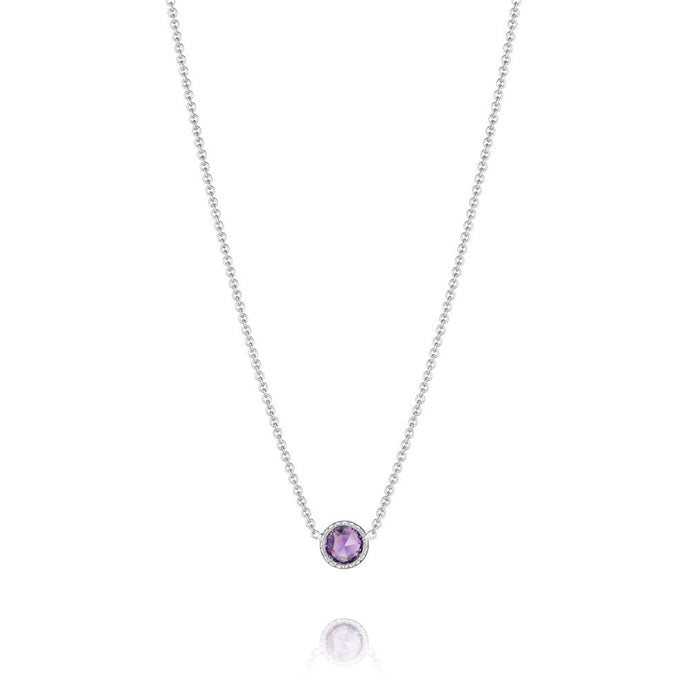 Tacori Petite Floating Bezel Necklace
