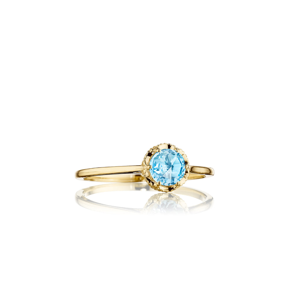 Tacori Petite Crescent Crown Ring