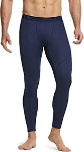 Tesla Men's (Pack of 2) Compression Pants Baselayer Cool Dry Sports Tights Leggings MUP69-VCH