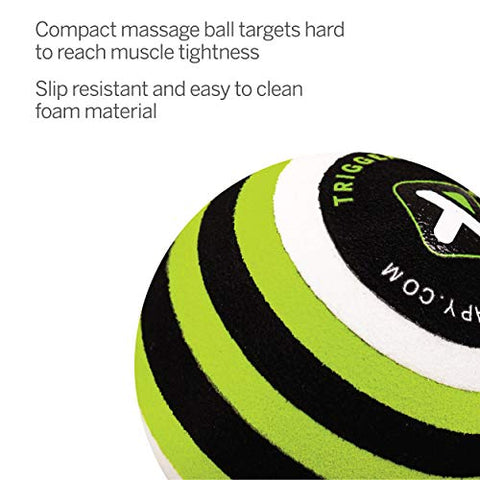 Image of TriggerPoint Foam Massage Ball for Deep-Tissue Massage, MB1 (2.6-inch)