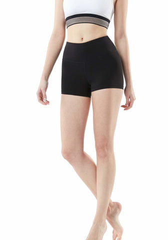 Image of Tesla Women's Active Bike Running Yoga Shorts Side/Hidden Pocket Series FYS23-BLK