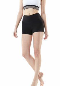 Tesla Women's Active Bike Running Yoga Shorts Side/Hidden Pocket Series FYS23-BLK