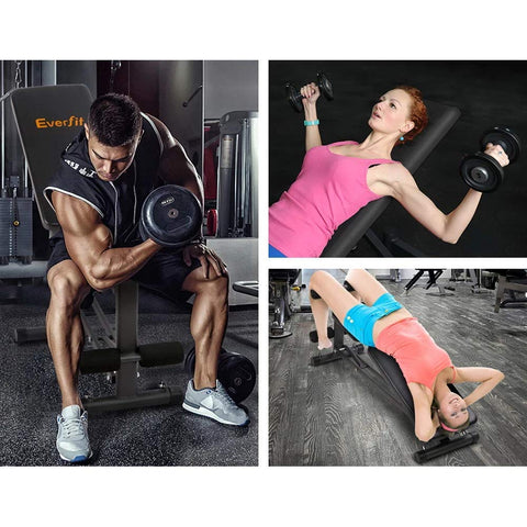 Image of Weight Bench for Gym Sit Up Bench Adjustable Home Gym Fitness Exercise Incline Benches Press