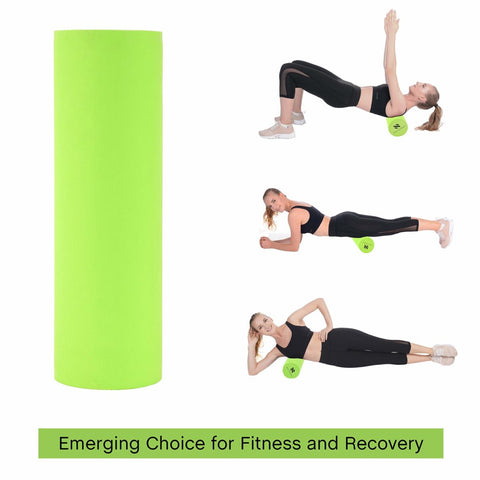 Image of Nooraki 2-in-1 Foam Rollers For Muscles: Deep tissue Massage Foam Roller - High Density, Size 33cm (13inches) Ideal for sore and stressed muscles * BONUS: comes with FREE carry bag.
