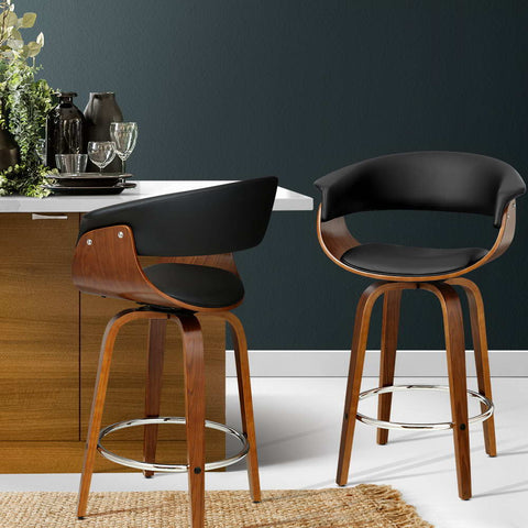 Image of Wooden Bar Stool