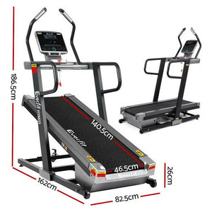 Everfit Electric Treadmill Auto Incline Trainer CM01 40 Level Incline Gym Exercise Running Machine Fitness