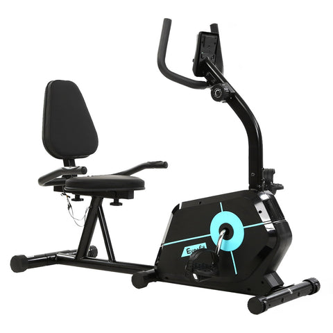 Image of Everfit Magnetic Recumbent Exercise Bike Fitness Cycle Trainer Gym Equipment