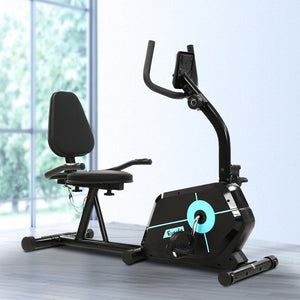 Recumbent Exercise Bike Fitness Cycle Trainer Gym Equipment Everfit Magnetic