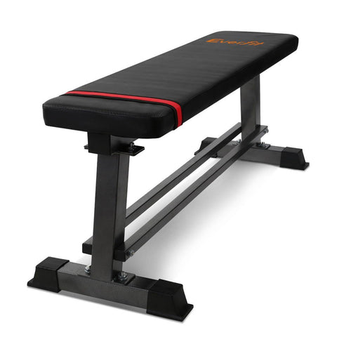 Image of Everfit Adjustable Flat Multi-Station Weight Bench Home Gym Squat Press Benches