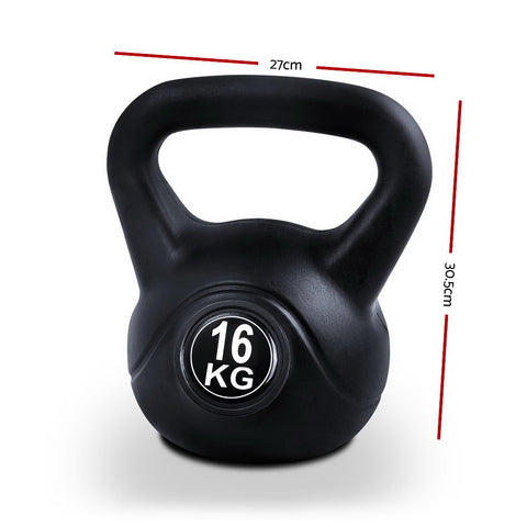 Everfit Kettlebells Fitness Exercise Gym Weight Kit 16kg