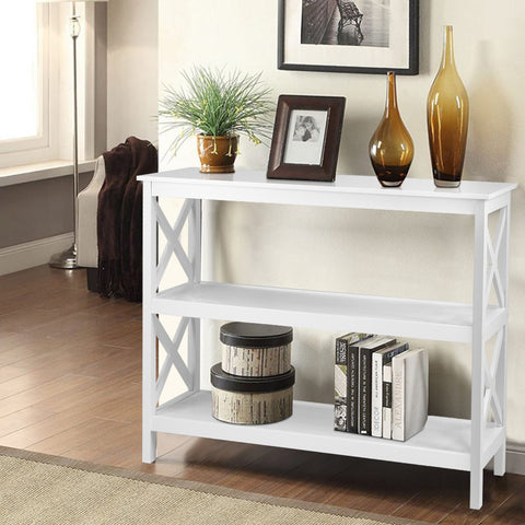 Image of storage console table