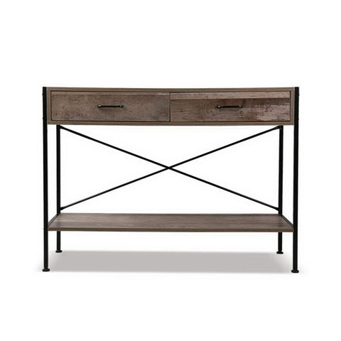 Image of Artiss Wooden Hallway Console Table - Wood