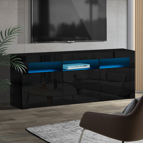 Image of TV Cabinet Unit Stand LED
