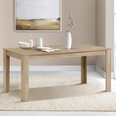 Image of wooden dining table