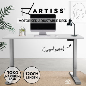 Artiss Standing Desk Motorised Height Adjustable Sit Stand Computer Table Office 120cm