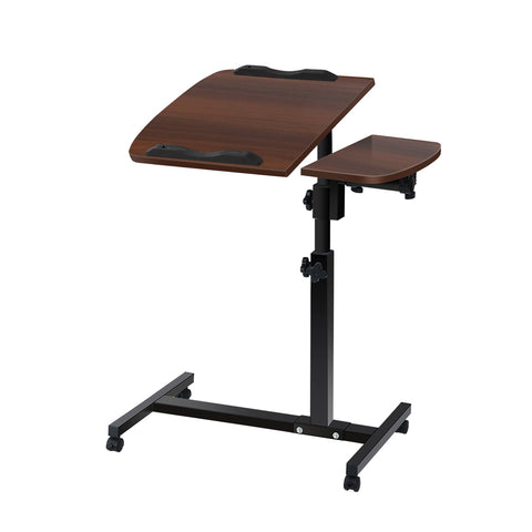 Image of Adjustable Computer Stand - Walnut