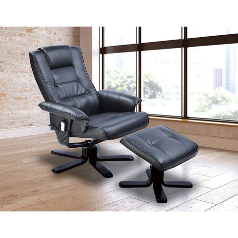 Image of leather massage chair