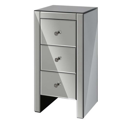 bedside table grey