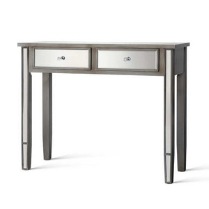Artiss Mirrored Furniture Dressing Console Hallway Hall Table Drawers Sidebaord