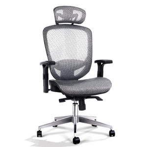 Artiss Office Chair Gaming Chair Computer Chairs Mesh Net Seating Grey