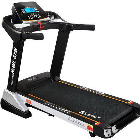 Image of Everfit Electric Treadmill 48cm Incline Running Home Gym Fitness Machine Black