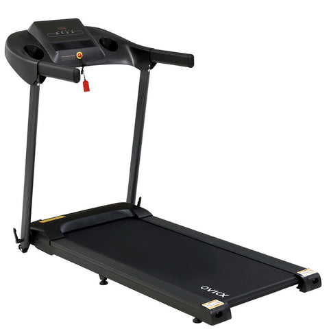 Image of OVICX Electric Treadmill Home Gym Exercise Machine Fitness Equipment Compact
