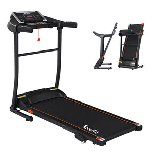 Everfit Electric Treadmill Incline Home Gym Exercise Machine Fitness 400mm