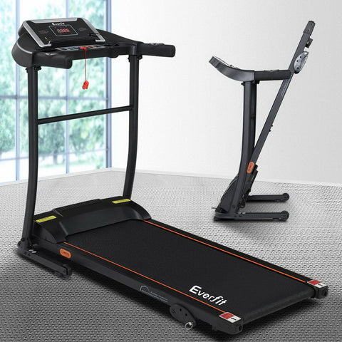 Everfit Electric Treadmill Incline Home Gym Exercise Machine Fitness 400mm - 106cm x 136cm