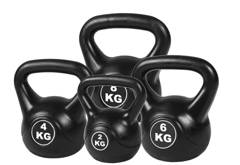 Image of 4pcs Exercise Kettle Bell Weight Set 20KG