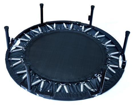 Image of Mini Rebounder Trampoline With Handle Rail