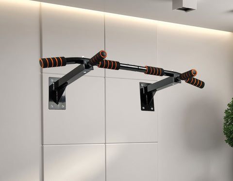 Image of Pull Up Bar Home Heavy Duty Ceiling Chin Up Bar Mounted Gym