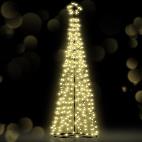 Image of Jingle Jollys 3.6M LED Christmas Tree Lights Xmas 400pc LED Warm White Optic Fiber