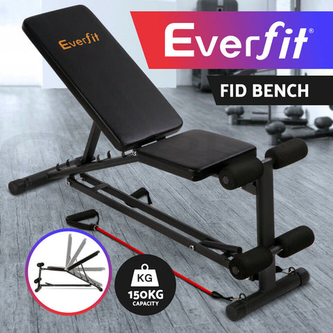 Weight Bench for Gym Sit Up Bench Adjustable Home Gym Fitness Exercise Incline Benches Press