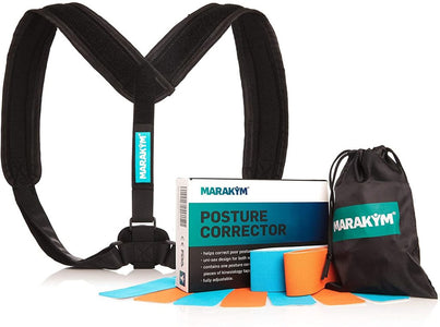Posture Corrector - Adjustable Clavicle Brace to Comfortably Improve Bad Posture for Men and Women