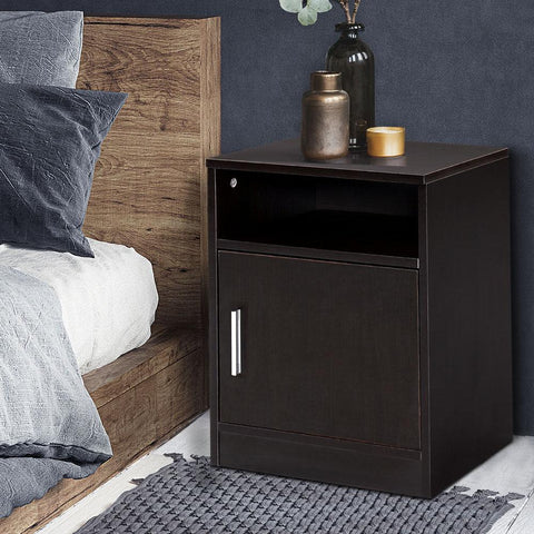 Image of bedside table brown