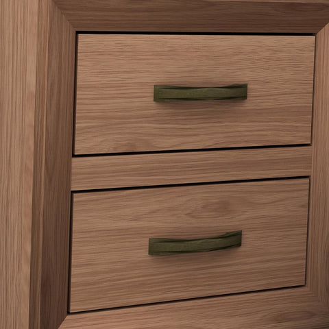 Image of Mariza Bedside Table Saxon Oak